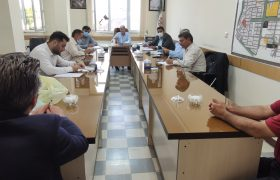 دیدار اعضای جامعه ی معلولین شهرستان سلماس با اعضای شورای اسلامی شهر سلماس