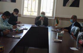 دیدار رئیس و اعضای شورای شهر و سرپرست شهرداری سلماس با مدیر شبکه بهداشت و درمان