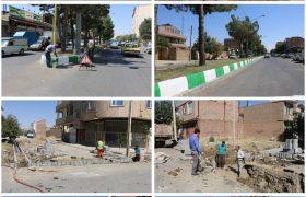 تصاویری از فعالیتهای عمرانی شهرداری