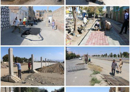 گزارش مصور فعالیتهای عمرانی و خدماتی شهرداری سلماس
